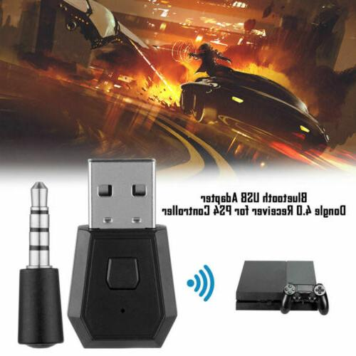 Wireless Bluetooth Dongle Receiver PS4 Sound