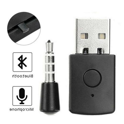 Wireless Mini Dongle Receiver Adapter for PS4 Headset