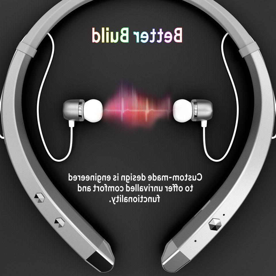Wireless Running Headphones Headset Earphone