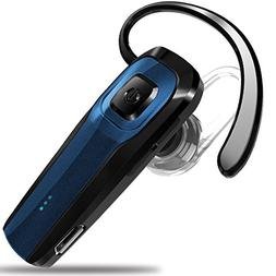 Masentek M26 Bluetooth Headset V4.1 Cordless Handsfree Blue