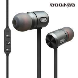 Magnet Wireless Bluetooth Headphone In-Ear Earbuds Extra Bas