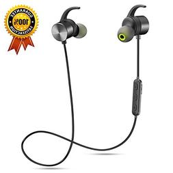 Senbowe Magnetic Bluetooth Headphones,Wireless Bluetooth He
