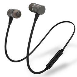Metal Magnetic Wireless Bluetooth Earphone Sports Headset St