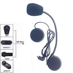 FreedConn Microphone Headphone Speaker Hard Cable Headset Ac