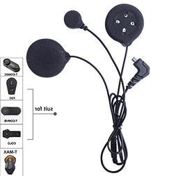 FreedConn Microphone Headphone Speaker Soft Cable Headset Ac