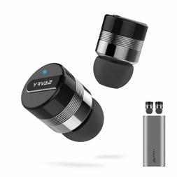 Mini True Wireless Bluetooth Twins Stereo In-Ear Earbuds Hea
