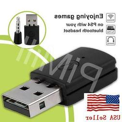 Mini Version Bluetooth Dongle USB Adapter for PS4 Any Blueto