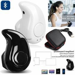 Mini Wireless Bluetooth Earbuds In-Ear Earphones Sport Heads
