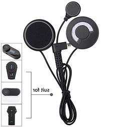 FreedConn Motorcycle Helmet Speakers Headset with Soft Corde