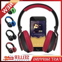 New Bluetooth 4.0 Headphones Wireless Audio Stereo Microphon