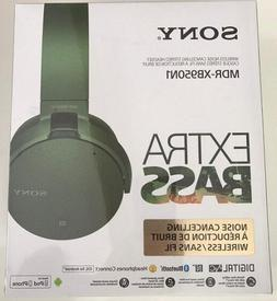 new mdr xb950n1 extra bass noise canceling
