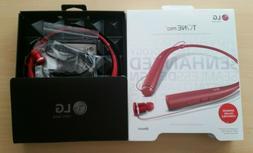 NEW Original LG Tone Pro LBT780 RED Wireless Stereo Bluetoot
