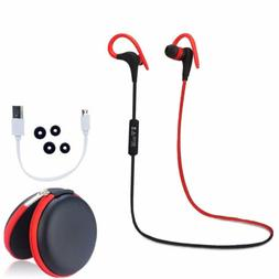 New Wireless Bluetooth 4.1 Earphone Headphone Earbuds Headse