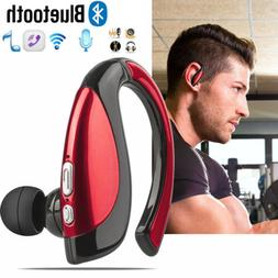 Noise Cancelling Bluetooth Earphone Headset Earpiece for IOS