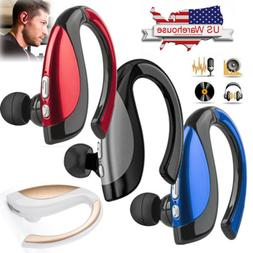 Noise Cancelling Bluetooth Earphone Headset Earpiece for And