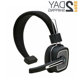 Noise Cancelling Bluetooth Headset For Trucker With Mic Hand