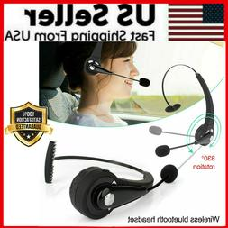 Noise Cancelling Wireless Bluetooth Headset Over the Head Bo