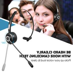 Over the Head Bluetooth Headset for Car Truck Driver Telepho