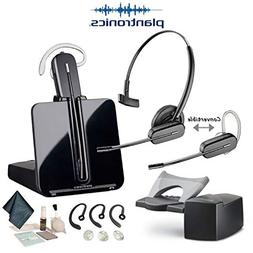 Plantronics CS540 Convertible Wireless Headset Bundle with S