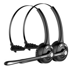 Mpow Pro Truck Driver Bluetooth Headset Office Headphone Cal