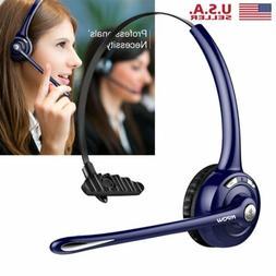 Mpow Pro Trucker Wireless Bluetooth Headset Headphone Earpho