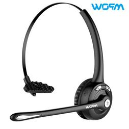 Mpow Pro Trucker Bluetooth Headset with Mic 4X Stereo Headph