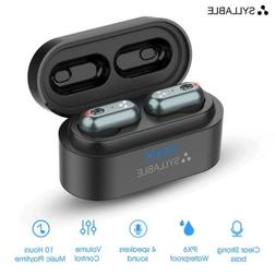Syllable S101 Bluetooth 5.0 Bass Low Noise Earphones IPX6 wa