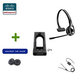 Sennheiser SD PRO1 - Deskphone Cordless Headset with Cisco R