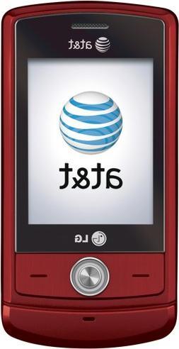 LG Shine CU720 Phone, Red