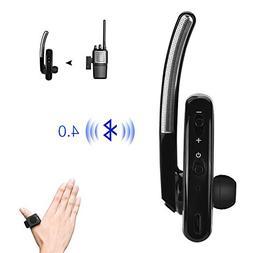 Single Bluetooth Wireless Walkie Talkie Headset Earhook Earp