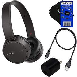 Sony Bluetooth Wireless On-Ear Headphones WH-CH500  + USB Ca