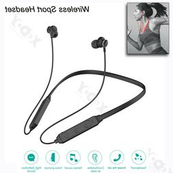 Wireless Stereo Headset  Magnetic Sport Earphone Headphones