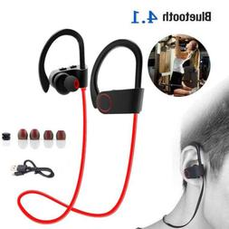 Bluetooth Earbuds Best Wireless Headphones Running Sports Gy