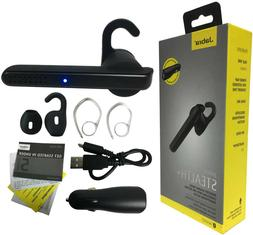 Jabra Stealth+ Plus Midnight Wireless Bluetooth Headset Voic