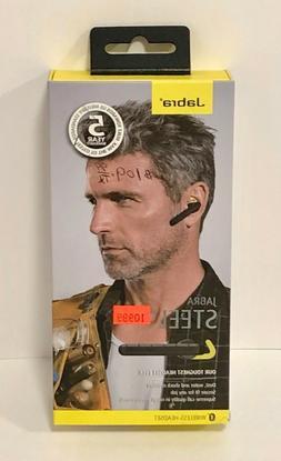 Jabra Steel Black In Ear Bluetooth Headsets New In Box FREE