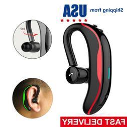 Stereo Bluetooth Headset Handsfree Wireless Earpiece for Bus