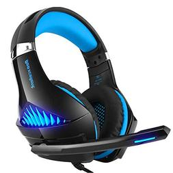 DoinMaster Stereo Gaming Headset for PS4, PC, Xbox One Contr