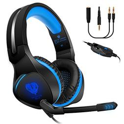 Anksono Stereo Gaming Headset for PS4, Xbox One, Nintendo Sw