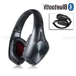 stereo gaming headset headphone bluetooth w mic