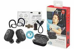 Motorola Stream True Wireless Stereo Earbuds with Charging C