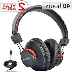 Avantree 40 hr Wireless Wired Bluetooth Over Ear Headphones