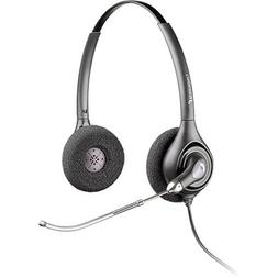 Plantronics SupraPlus HW261 Stereo Corded Headset w/ AudioIQ