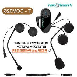 T-COM02S Motorcycle Helmet Bluetooth BT Intercom Headset for