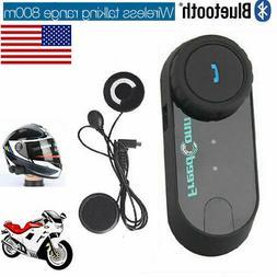 T-COMVB 800M Bluetooth Motorcycle Intercom Helmet Headset 3