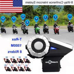Freedconn T-Rex Motorcycle Helmet Bluetooth Headset Intercom