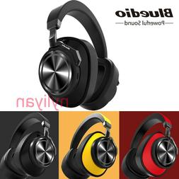 Bluedio T6 Bluetooth Headphones Wireless Noise Cancelling Ba