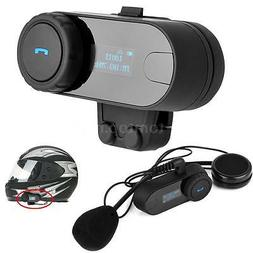 Freedconn TCOM-SC Motorcycle Helmet Bluetooth Headset Interc