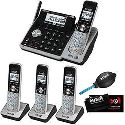 AT&T  Dect 6.0 1-Handset 2-Line Landline Telephone Bundle wi