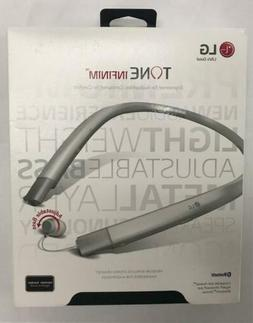 LG Tone Infinim HBS-920 Wireless Stereo Headset - Silver HBS