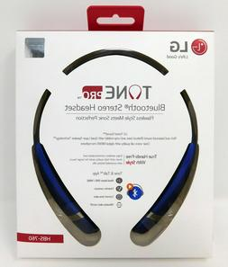 New LG Tone Pro HBS-760 Blue Wireless Bluetooth Stereo Heads